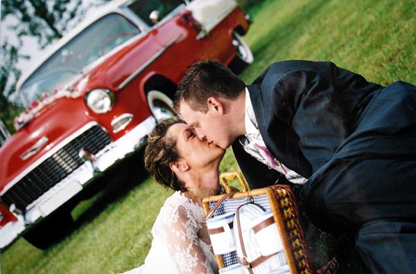 mariage inoubliable en voiture americaine de collection - Location Voiture Americaine Pour Mariage